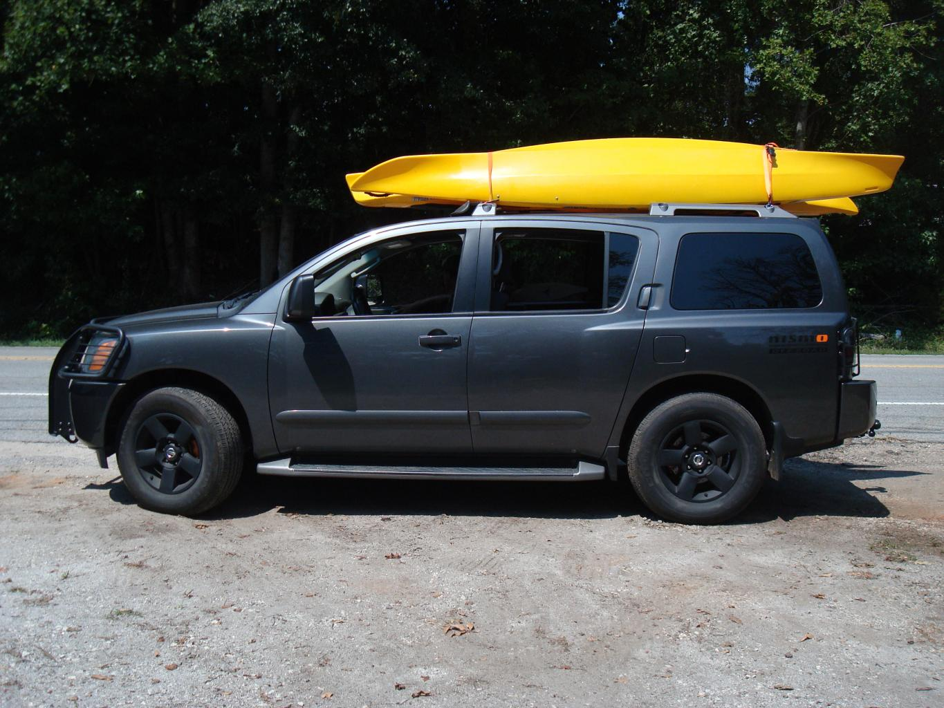 Bikekayak carrier recommendation needed nissan armada forum click image for larger version name dsc00239g views 1070 size 1959 vanachro Images