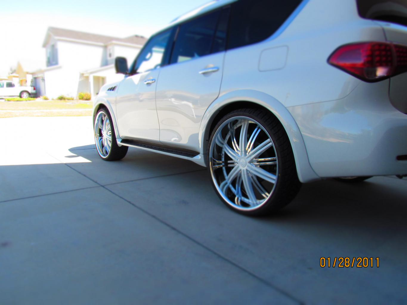 1st 2011 Qx56 On 28s Nissan Armada Infiniti Qx56 Forums