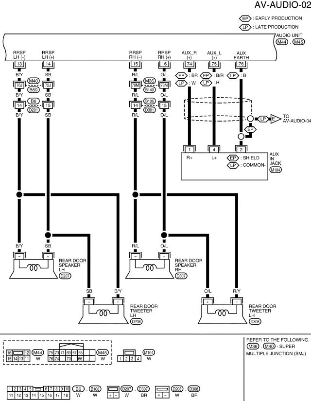 speaker wiring nissan armada & infiniti qx56 forums airstream trailer wiring diagram infiniti qx56 speaker wiring diagram #2