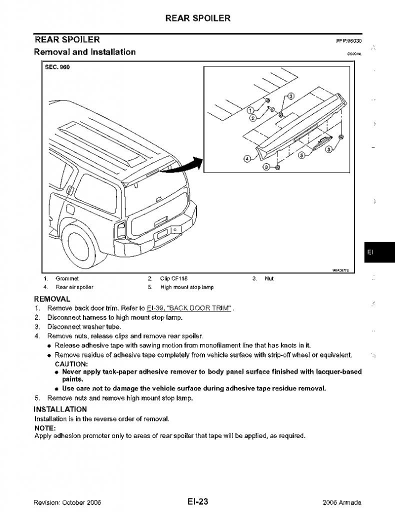 Need help replacing the rear window hinge nissan armada forum attached thumbnails vanachro Images