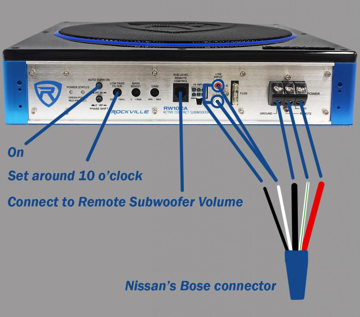 [SCHEMATICS_48IU]  Bose subwoofer upgrade | Nissan Armada & Infiniti QX56 Forums | Bose Wire Diagram 2007 Armada |  | Nissan Armada forum