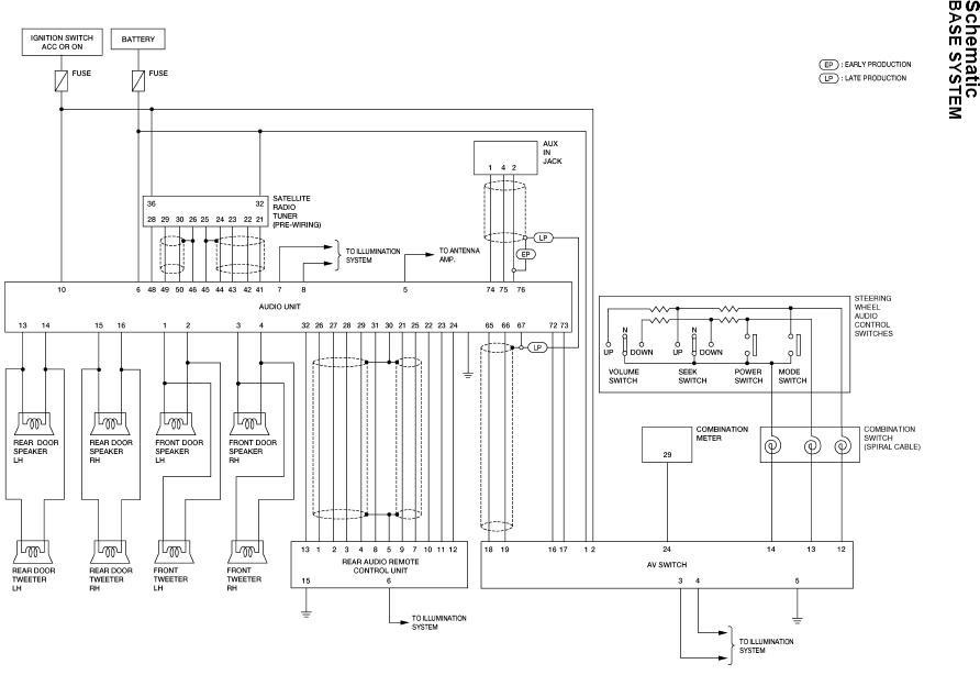 Speaker Wiring Nissan Armada Infiniti Qx56 Forums